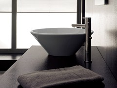 - Countertop ceramic washbasin CONO - Scarabeo Ceramiche
