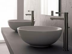 - Countertop round ceramic washbasin SFERA - Scarabeo Ceramiche