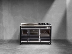 Cucina a libera installazioneRUSTICA 140 lge - CORRADI CUCINE