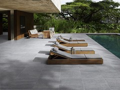 - Porcelain stoneware outdoor floor tiles with stone effect BASALIKE | Outdoor floor tiles - Panaria Ceramica