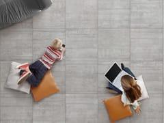 Pavimento in gres porcellanato effetto cementoBETONAGE - CERAMICA RONDINE