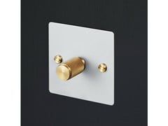 - Light Switches Light Switches - White & Brass - Buster + Punch