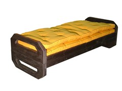 - Upholstered wooden bench OPS | Bench - Cinius