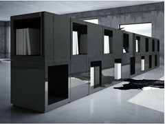 - Modular laminate office storage unit LECTULUS - RECHTECK Felix Schwake