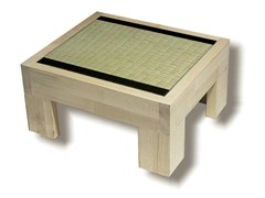 - Rectangular wooden bedside table TATAMI | Bedside table - Cinius