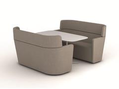 Divano con schienale alto per contractPARCS Wing Sofa - BENE
