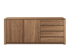 - Teak sideboard with drawers TEAK LODGE | Teak sideboard - Ethnicraft