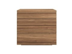 - Free standing teak chest of drawers TEAK BURGER | Teak chest of drawers - Ethnicraft