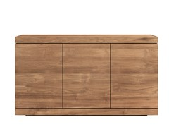 - Teak sideboard with doors TEAK BURGER | Teak sideboard - Ethnicraft