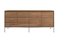 - Teak sideboard with doors TEAK ESSENTIAL | Sideboard - Ethnicraft