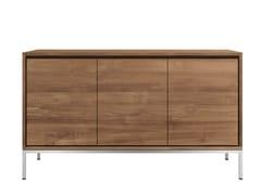 - Teak sideboard with doors TEAK ESSENTIAL | Teak sideboard - Ethnicraft