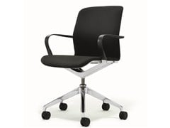 - Task chair with 5-Spoke base with armrests with casters FILO CHAIR | Task chair - BENE