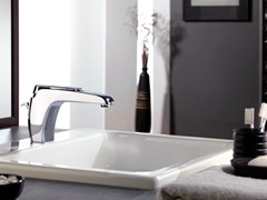 - Chrome-plated single handle washbasin mixer ATMOS | Chrome-plated washbasin mixer - Remer Rubinetterie