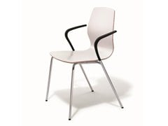 - Stackable training chair with armrests MEZZO | Training chair - BENE