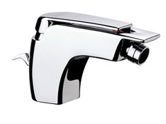 - Chrome-plated single handle bidet mixer ATMOS | Bidet mixer - Remer Rubinetterie