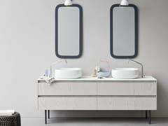 - Double vanity unit with drawers MOODE | Double vanity unit - Rexa Design