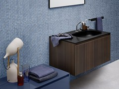 - Single eucalyptus vanity unit MOODE | Eucalyptus vanity unit - Rexa Design
