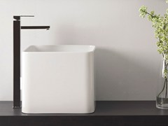 - Single handle washbasin mixer QUBIKA | Single handle washbasin mixer - Remer Rubinetterie