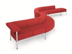 - Sectional fabric leisure sofa COFFICE | Sofa - BENE