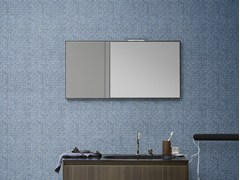 - Wall-mounted rectangular mirror MOODE | Mirror - Rexa Design
