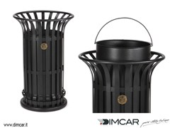 - Outdoor metal waste bin Cestone Mida - DIMCAR