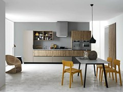 - Linear fitted kitchen ARIEL - COMPOSITION 3 - Cesar Arredamenti