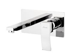 - Wall-mounted single handle washbasin mixer MARTE | Wall-mounted washbasin mixer - Rubinetterie Mariani