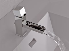 - Single handle washbasin mixer RIVER | Washbasin mixer - Rubinetterie Mariani