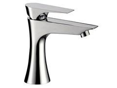 - Chrome-plated single handle washbasin mixer without waste DIVA | Washbasin mixer - Daniel Rubinetterie