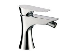 - Chrome-plated single handle bidet mixer without waste DIVA | Bidet mixer without waste - Daniel Rubinetterie