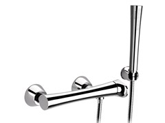 - Chrome-plated shower mixer with hand shower DIVA | Shower mixer with hand shower - Daniel Rubinetterie