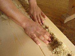 Isolamento termico flessibile in fibre di canapa sfuseFiberTherm Canawool® - BETONWOOD