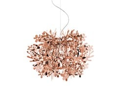- Copperflex pendant lamp FIORELLA MINI COPPER - Slamp