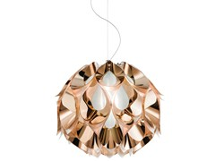 - Indirect light Copperflex pendant lamp FLORA MEDIUM COPPER - Slamp