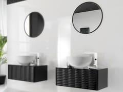 - Floor-standing single wall-mounted vanity unit LOUNGE | Vanity unit - NOKEN DESIGN