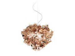 - Copperflex pendant lamp VELI SUSPENSION COPPER - Slamp