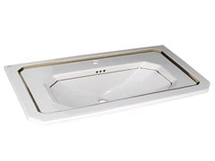 - Inset washbasin with overflow IMAGINE | Washbasin with overflow - NOKEN DESIGN