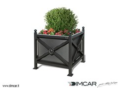 - Metal Flower pot Fioriera Orchidea Midi pareti lam forata - DIMCAR