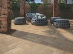 Pavimento per esterni in gres porcellanato effetto pietraPATIO - CASALGRANDE PADANA
