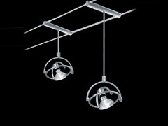 - Ceiling spotlight with fixed arm TENSOFARIUNO 50/100 - Cini&Nils