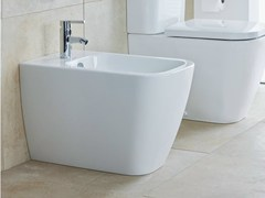 - Wall-hung ceramic bidet HAPPY D.2 | Ceramic bidet - DURAVIT