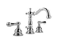 - 3 hole chrome-plated countertop washbasin tap NANTUCKET | Countertop washbasin tap - Graff Europe West