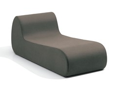 - Upholstered fabric lounge chair VIRGOLA   Lounge chair - MissoniHome