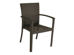 - Garden chair with armrests ALASSIO | Chair with armrests - Mediterraneo by GPB