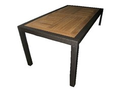 - Rectangular garden table ALASSIO | Rectangular table - Mediterraneo by GPB