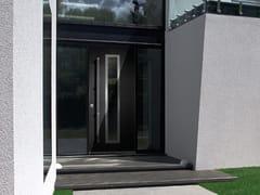 Porta d'ingresso blindata con pannelli in vetroFRAME - QUARTIERI LUIGI