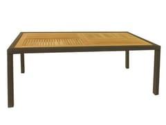 - Rectangular garden table ALASSIO | Rectangular table - Mediterraneo by GPB