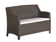 - 2 seater garden sofa ALASSIO | 2 seater sofa - Mediterraneo by GPB