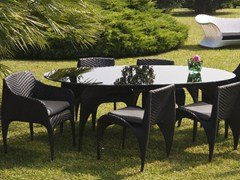 - Oval garden table NUVOLA | Oval table - Mediterraneo by GPB