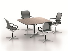 - Square meeting table FILO 4-STAR TABLE | Square meeting table - BENE